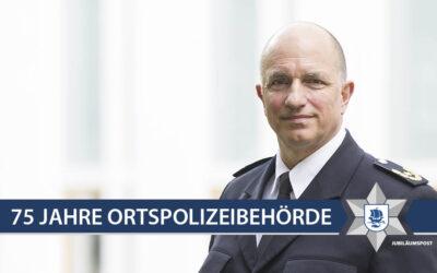 GRUSSWORT DES POLIZEIVIZEPRÄSIDENTEN DER POLIZEI BREMEN